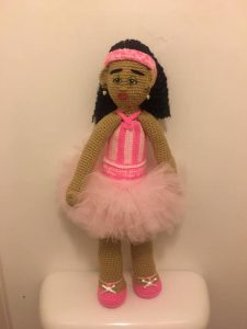 MY 1st CROCHET DOLL-SERENITY